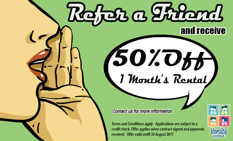 Refer a Friend Website ad