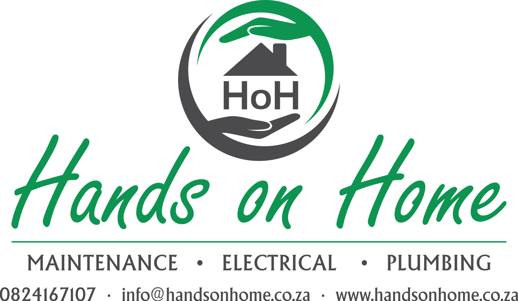 hand on home logo final contact details